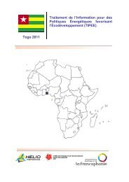 Togo National Report_Formated - HELIO International
