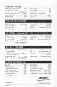 Wing Commander III - Quick Reference Card.pdf - Page 2