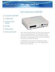 Download ZNID-GPON-2543 Datasheet