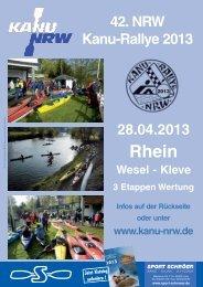 42. NRW Kanu-Rallye 2013