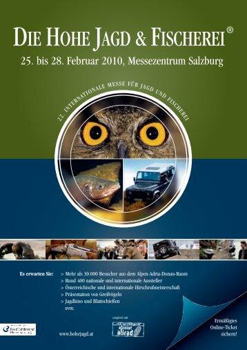 25. bis 28. Februar 2010, Messezentrum Salzburg - Verband der ...