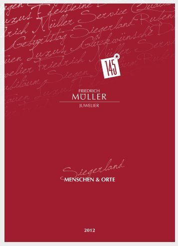 SIEGERLAND - Friedrich Müller Juwelier