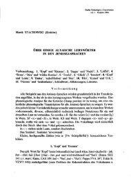 Über einige altaische Lehnwörter in den Jenissej-Sprachen.