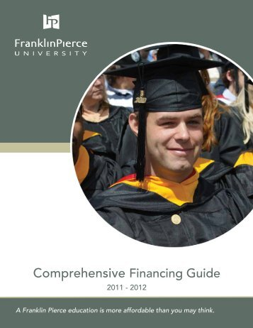 Download the Financial Aid Booklet - Franklin Pierce University