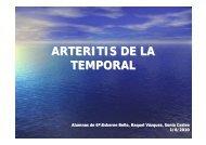 arteritis de la temporal - EXTRANET - Hospital Universitario Cruces