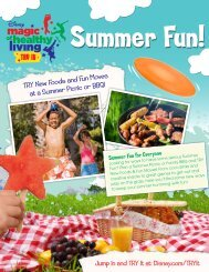 TRY New Foods and Fun Moves at a Summer Picnic or BBQ!