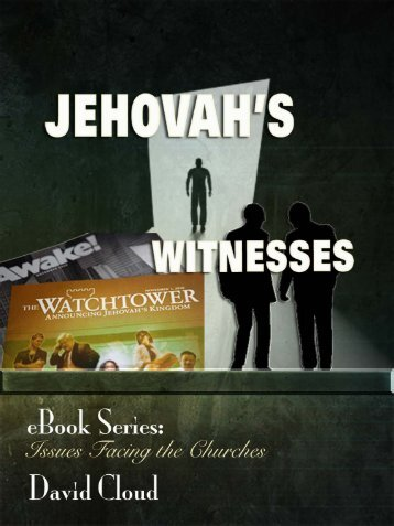 The Jehovah's Witnesses - Way of Life Literature