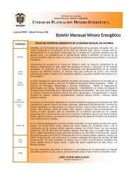 Junio - Unidad de Planeación Minero Energética, UPME