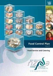 Food Control Plan Checklist - Tararua District Council