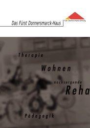 Info-Broschüre Fürst Donnersmarck-Haus