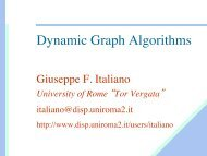 Dynamic Graph Algorithms