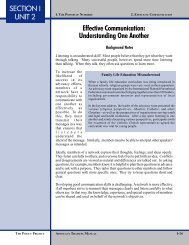 Unit 2. Effective Communication: Understanding ... - POLICY Project