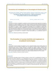 Formación de investigadores en tecnologías de banda ancha