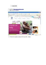 UNILEVER Ingresa a http://www.unilever.com/ Haga click en ...