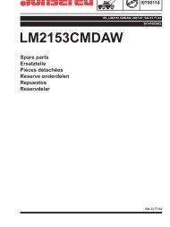 IPL, LM2153 CMDAW, 96141005902, 2007-07, Lawn ... - Jonsered