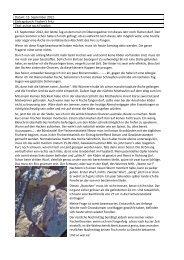 Datum: 15. September 2012 Eintrag durch: Fischer's Fritz ... - Bever