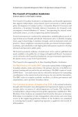 Water and Agriculture in Canada - Council of Canadian Academies - Page 5