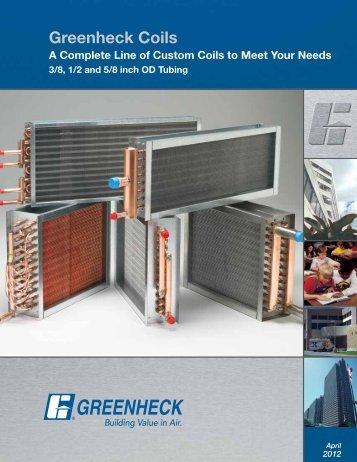 Greenheck Coils Brochure