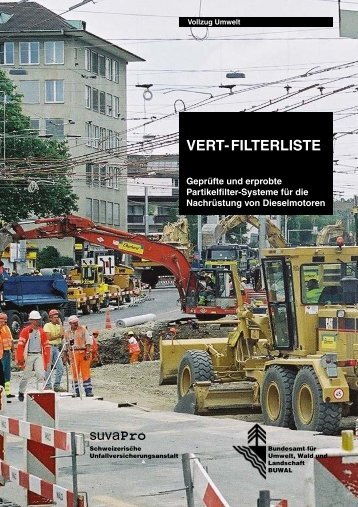 VERT-FILTERLISTE Geprüfte und erprobte Partikelfilter ... - KSE Bern
