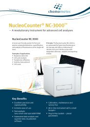 NucleoCounter ® NC-3000™