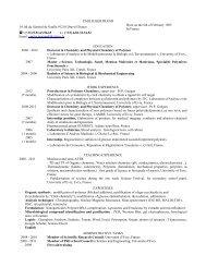 PhD Student - Doctorat