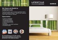 Beispiel Bambus-Optik - ZEG Zentraleinkauf Holz und Kunststoff eG