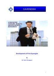 Development of Print Synergies - Ipex