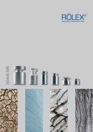 KATALOG 2006 - RÖLEX Ventile Produktion GmbH