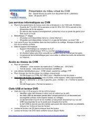 document - Cégep du Vieux Montréal
