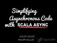 Scala Async - LAMP - EPFL