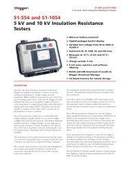 S1-554 and S1-1054 5 kV and 10 kV Insulation ... - Surgetek
