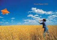 Annual Report 2003 - T-Hrvatski Telekom