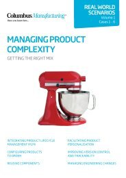 Managing Product Complexity (Scenarios) - The Manufacturer.com