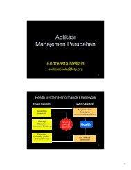 Aplikasi Manajemen Perubahan - KMPK
