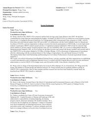 2012 CREST Annual Report - Alabama A&M University