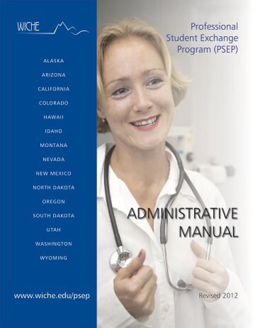 (PSEP) Manual - WICHE