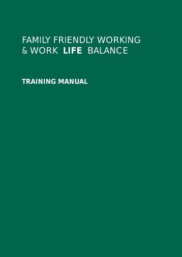 training manual - Irish Congress of Trade Unions