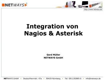 Integration von Nagios & Asterisk - NETWAYS GmbH