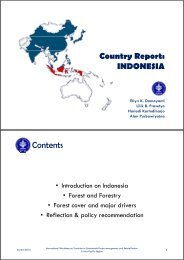 Country Report - APAFRI-Asia Pacific Association of Forestry ...