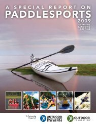 a sPecial rePort - American Canoe Association