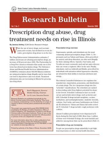 Research Bulletin - Illinois Criminal Justice Information Authority