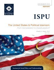 The United States & Political Islamism - Institute for Social Policy and ...