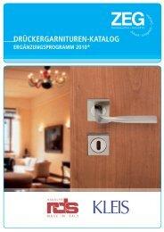 RDS & Kleis Rosettengarnitur La - ZEG Zentraleinkauf Holz und ...