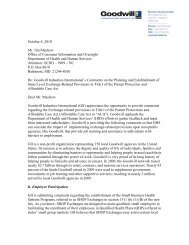 October 4, 2010 Mr. Jim Mayhew Office of Consumer Information ...