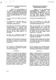ministere de la region de bruxelles - Monumenten & Landschappen