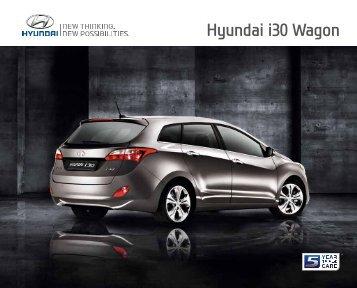 E-Prospekt Hyundai i30 Wagon - Stadt-Garage Rimini AG