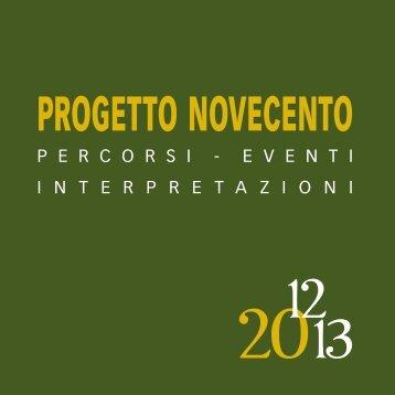 PROGETTO NOVECENTO 12 - Fondazionecariforli.it