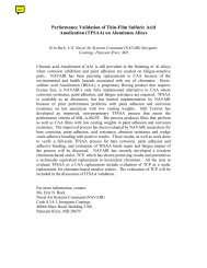 Performance Validation of Thin-Film Sulfuric Acid Anodization ...