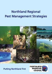 Northland Regional Pest Management Strategies