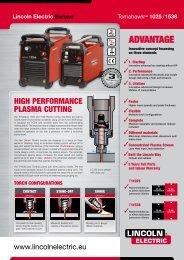advantage - Lincoln Electric